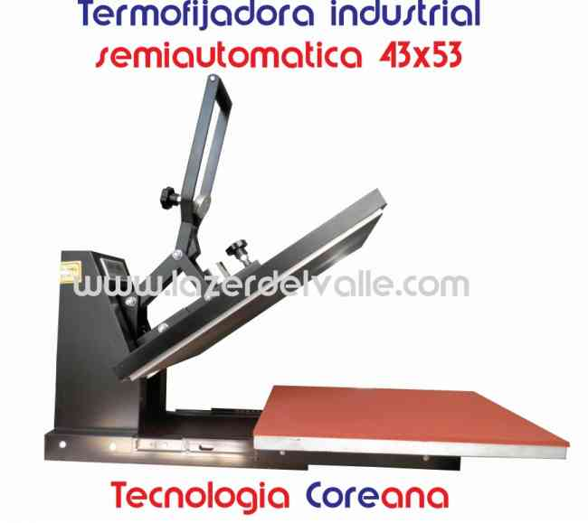 plancha termofijadora industrial coreana de 53x43 venta en pereira