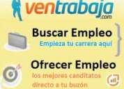 Oferta de empleo se necesitan tecnicos en bogota