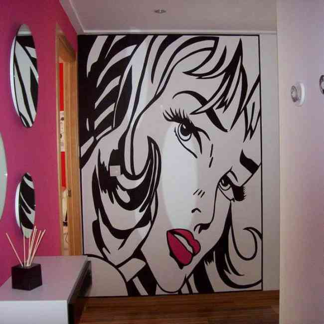 Decoracion de interiores con vinilos adhesivos medell n for Vinilo adhesivo para muebles