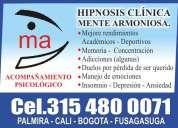 Transtornos de la atención. mente armoniosa  desde 1989 hipnosis cÍnica -. 315 4800071
