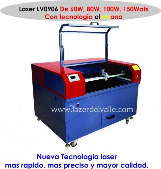 Venta de laser de grabado y corte 80w con 90x60 y cama baja con aditivos en pasto