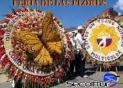 Feria de las flores con secolttur