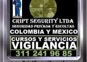 Vigilantes, escoltas, guardas, proteccion, supervisores, consultoria, asesoria, capacitacion, curso