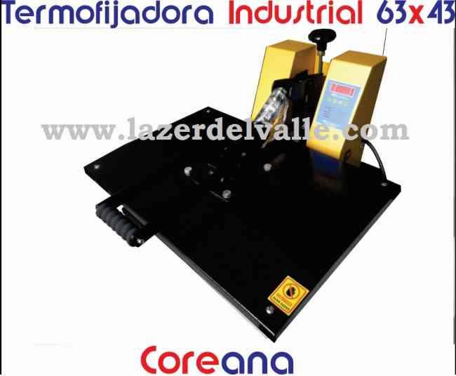 vendo en armenia termofijadora industrial textil de 63x43