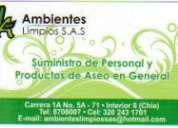 Servicios generales-aseo-toderos-niÑeras