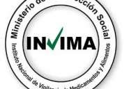 Abogado registro sanitario invima productos fitoterapeuticos