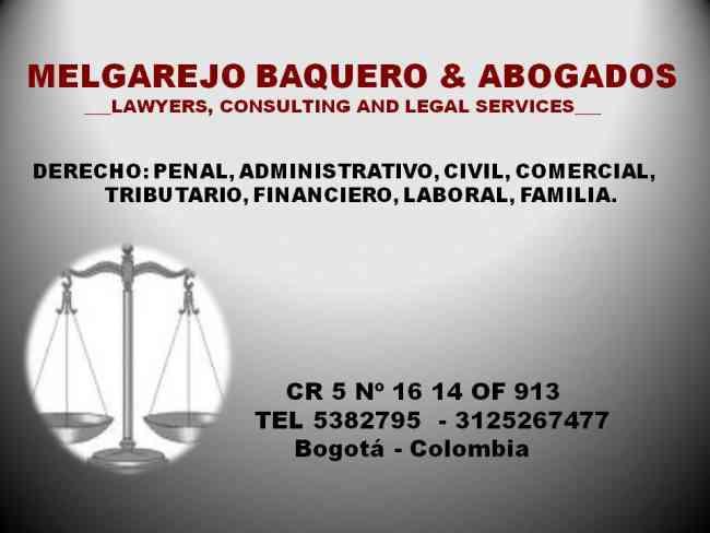 Abogados: ASESORIAS: derecho de familia penal laboral administrativo,civil.