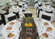 Alquiler de cristalería, mesas, sillas y menaje para eventos