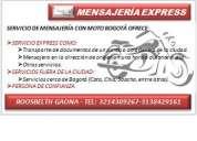 Mensajeria express en moto