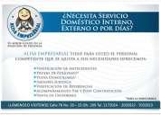 ¿busca empleada doméstica interna, externa o por días?