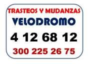 Trasteos y mudanzas la ceja llama al 300 225 26 75 tel 412 68 12