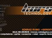 Soporte tecnico - computadores - portatiles - redes - domicilios