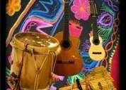 Clases a domicilio de canto, charango, guitarra, zampoñas
