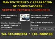 Mantenimiento, reparación y servicio técnico de computadoras a domicilio en bogota