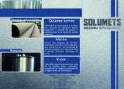 Solumets soluciones metalmecanicas