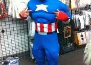 Disfraz capitan america