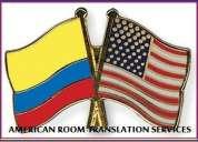 Servicio de traduccion profesional de documentos, textos pbx 2733286