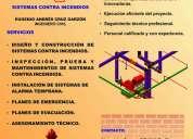 Red contra incendios, plan de emergencia, plan de evacuaciÓn, sistemas contra incendios, bogotÁ d.