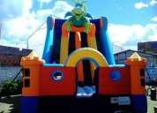 Inflables, saltarines  y animacion fiestas infantiles payaso risitas todo tipo de eventos