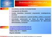Análisis, información, datos, pronósticos, cifras, call center, estadística, agendamiento, dimen