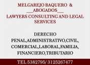 Abogado:consultas juridicas,asesorias,litigios,representacion