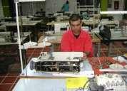 Tecnico en mantenimiento de maquinas de confeccion
