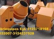 Fabrica de mezcladoras para concreto tipo trompo