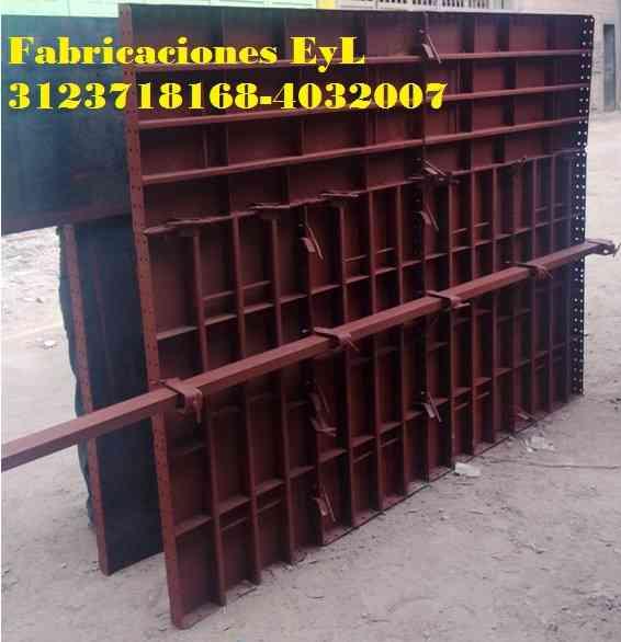 fabrica de formaleta metálica para muros o columnas