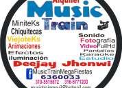 Alquiler de sonido luces pantallas bucaramanga music train 6360033