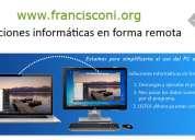Francisconi.org - reparación de pc online - reparación de pc online