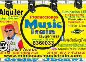 Alquiler de karaoke bucaramanga colombia music train