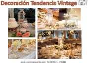 Novedosas tendencias de decoracion vintage