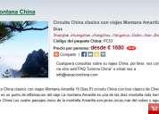 Circuito por china clasico con viajes montana amarilla 15 dias
