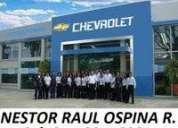 Chevrolet nuevos en popayan cauca