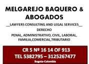 Asesorias juridicas en drecho civil,penla,laboral,administrativo,familia