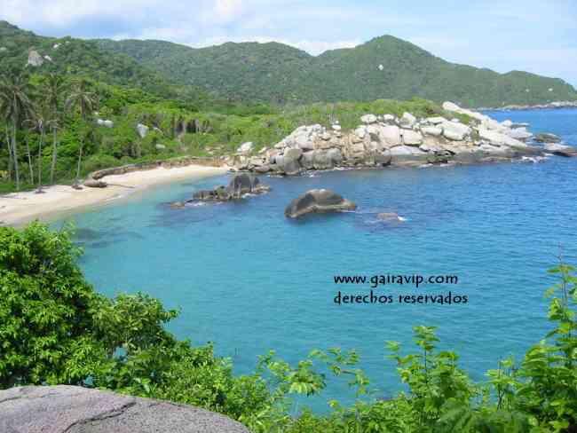 hotel en el Parque tayrona, camping, hamacas, cabañas area de arrecifes