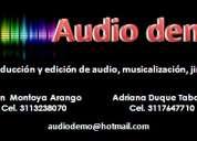 Audiodemo producciÓn y ediciÓn de audio
