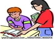 A domicilio: tutorías y clases de español y sociales / bachillerato