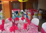 Salón social para sus eventos sociales y empresariales
