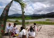 Ceremonias con los mamos   kogui en la playa