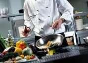 ¿necesitas chef profesional y experiencia