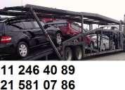 Transporte de carros nuevos y usados en niÑera