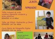 Academia de artes alegorÍa  talleres de vacaciones