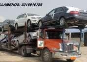 Transporte de carros en niÑera
