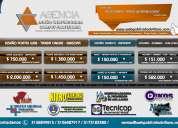 Diseño portales web / venta hosting dominios reseller